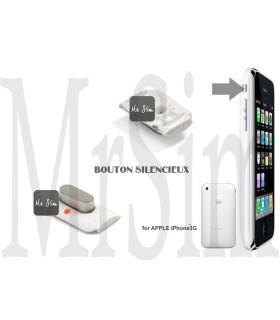 Pièce détachée Bouton silencieux externe blanc iPhone 3G & 3Gs