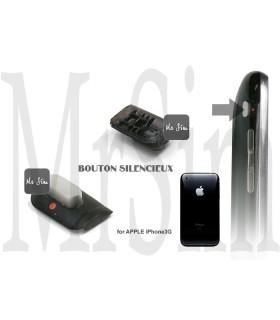 Pièce détachée Bouton silencieux externe noir iPhone 3G & 3Gs