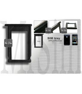 Tiroir carte sim noir pour iPhone 3G