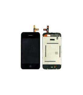 Ensemble complet LCD + Vitre Tactile + Chassis pour iPhone 3G