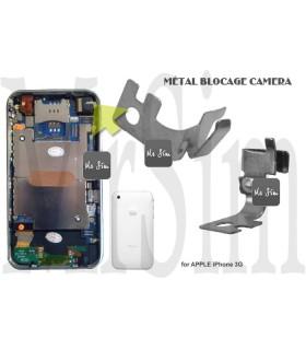 Réparation du support métalique de l'appareil photo de votre iPhone 3G