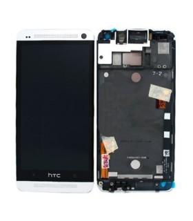 HTC One M7 Mini Forfait Réparation Vitre + lcd Original