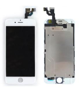 Ecran iPhone 6 Blanc complet vitre tactile + LCD Retina