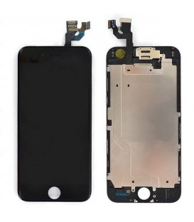 Ecran iPhone 6s Noir complet Vitre Tactile + LCD Retina