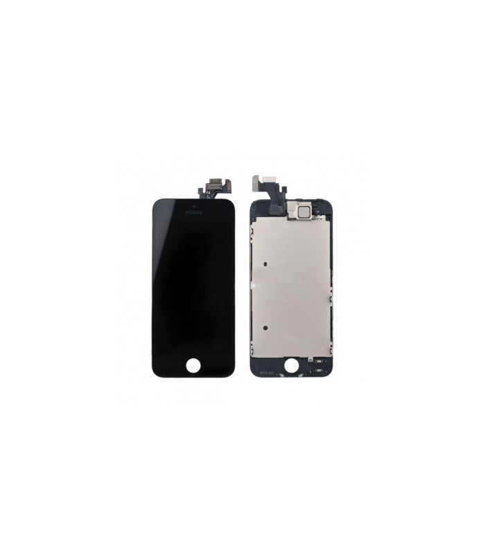 Ecran complet assembl iphone 5 noir original reparation for Ecran photo noir iphone 5