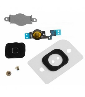Kit Bouton Home iPhone 5C Noir