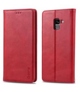 Etui portefeuille magnétique de marque azrs pour Samsung