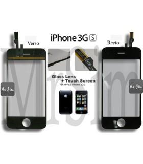 Pièce détachée Vitre tactile « iPhone 3GS » + Adhésifs