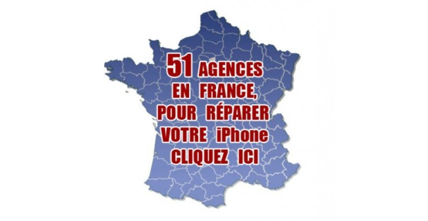 Centres de réparation iPhone 3/4/5/6/6+ en France tel 01.45.26.82.07