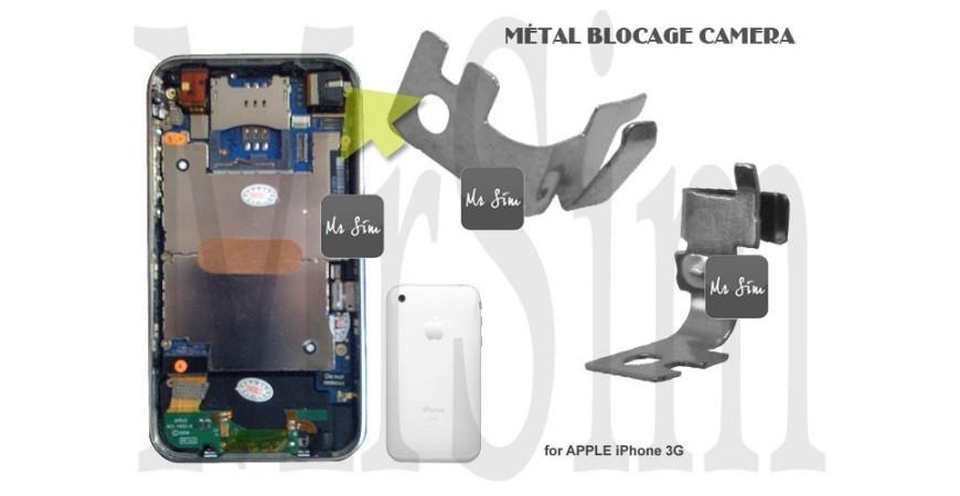 Réparation du support métallique de l'appareil-photo de votre iPhone 3/4/5
