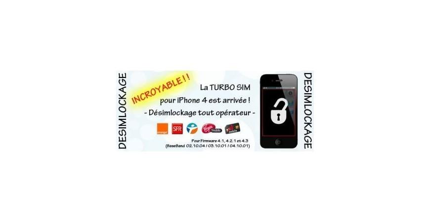 Turbo Sim iPhone 4 XSIM
