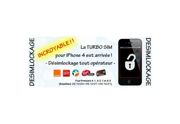 Turbo Sim iPhone 4 XSIM