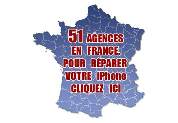 Trouvez nos agences iPhone en France 01-45-26-82-07 0699902019